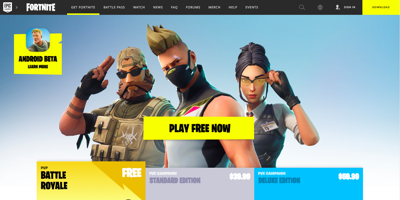 Android Trojans | Fake Fortnite Game on Google Play Store
