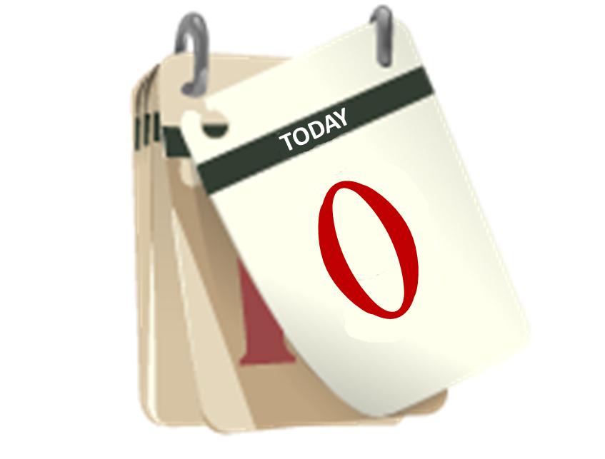 Zero Day Calendar
