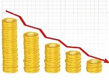 coins decline - small