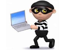 computer burgler- small