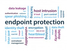 Lower Case endpoint protection word cloud