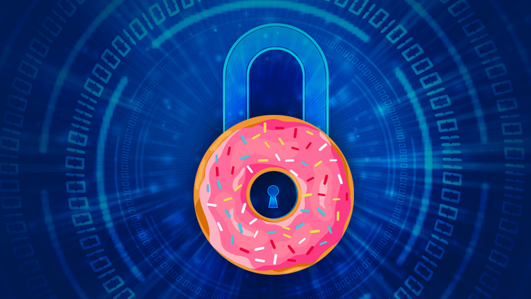 Cybersecurity Donut