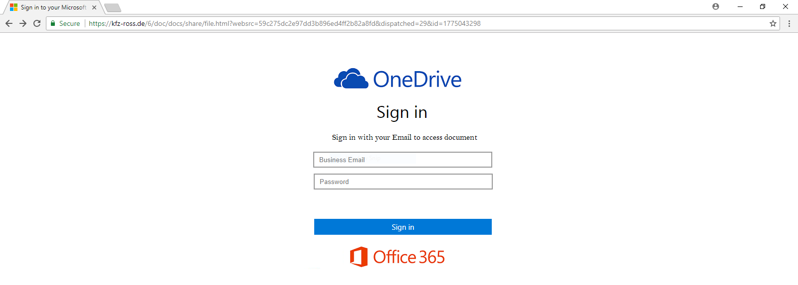 OneDrive  - one drive sign in - Phishing Trap for Microsoft Users | Phishing Attacks
