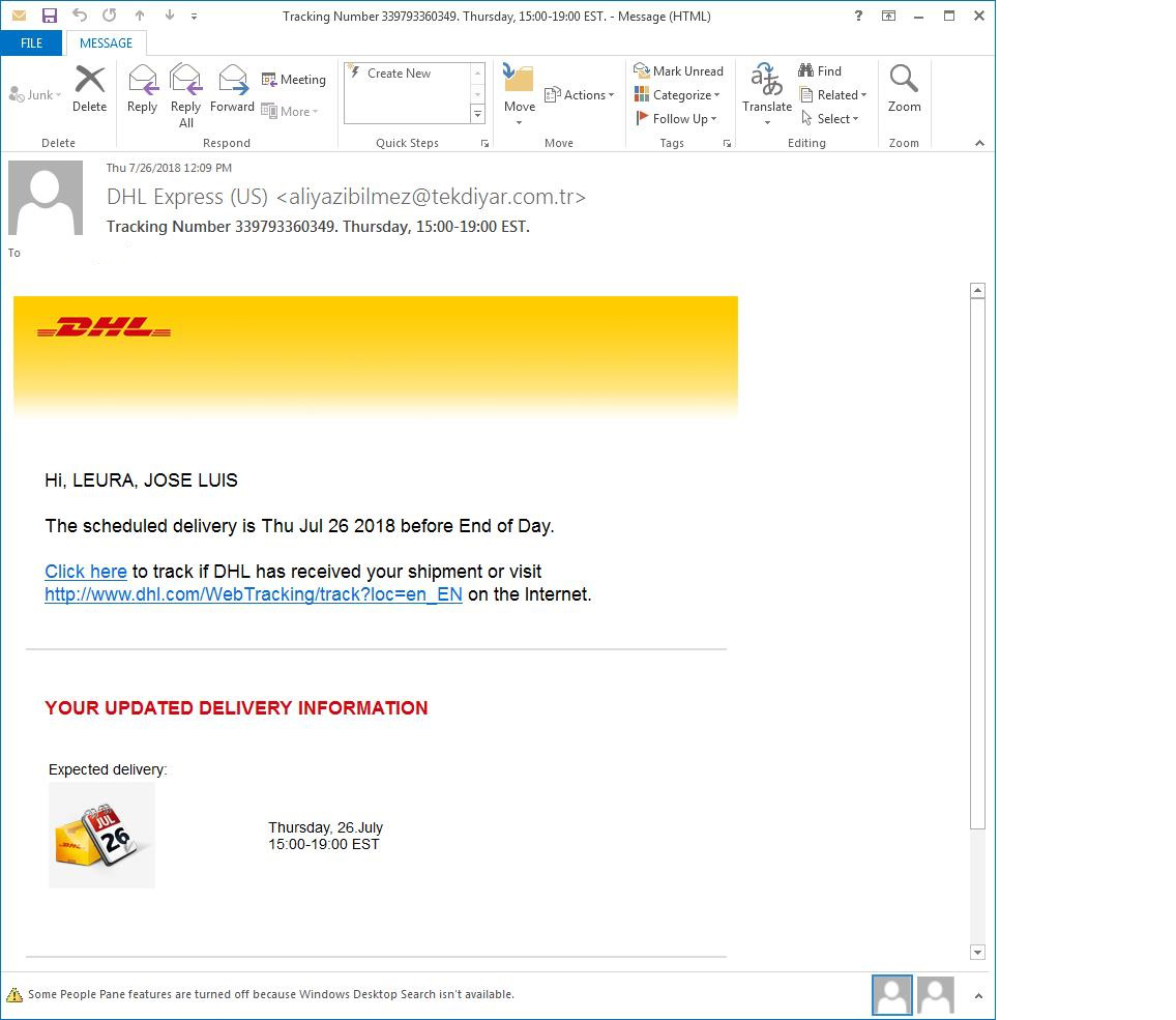 phishing email  - phishing email 2 - New immense attack of Emotet Trojan