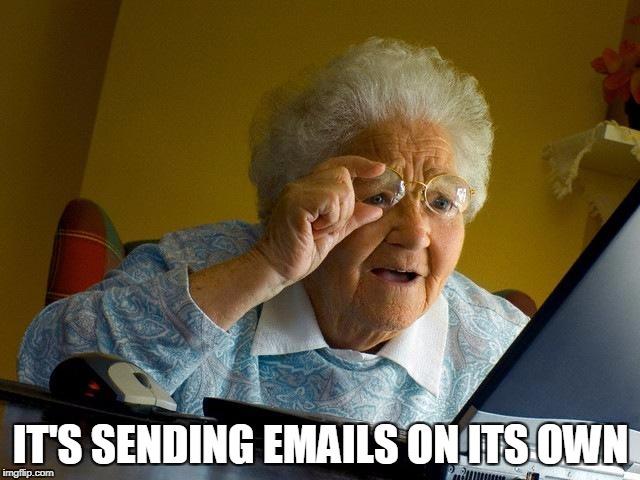 site sending emails